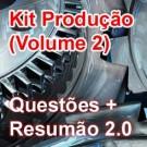 Kit Produção 2014 (Volume 2) - Questões + Resumão 2.0 (Produto digital)